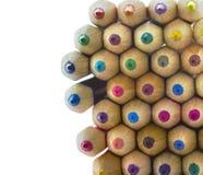 Veelkleurige potloden Stock Foto