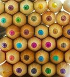 Veelkleurige potloden Royalty-vrije Stock Fotografie