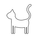 Het beeld van het huisdierpictogram Stock Fotografie