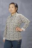 Het beeld van het portret van een oude Chinese vrouw Royalty-vrije Stock Fotografie