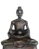 Het beeld van het standbeeldboedha van Boedha als amuletten van Boeddhismegodsdienst die wordt gebruikt Stock Fotografie