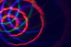 het beeld van neonlicht barstte abstract beeld Royalty-vrije Stock Foto's