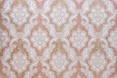 Het beeld van oud behang met doorbladert en bloeit Royalty-vrije Stock Foto