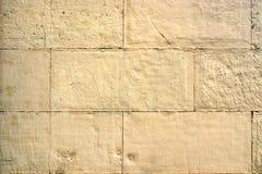 Het beeld van oude gele bakstenen muurclose-up Royalty-vrije Stock Fotografie