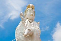 Het beeld van Yin van Kuan van Boedha Royalty-vrije Stock Fotografie