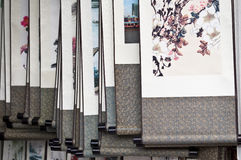 Chinese traditionele schilderijen royalty-vrije stock fotografie