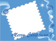 Het beeldgrens van Kerstmis, vector Stock Fotografie
