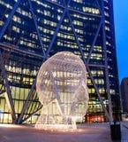 Het Beeldhouwwerk Calgary van het sprookjesland royalty-vrije stock foto's