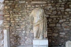 Het beeldhouwwerk van Albanië Stock Foto
