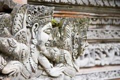 Het beeldhouwwerk van Bali Stock Fotografie