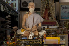 Het beeldhouwwerk van Budha Stock Fotografie