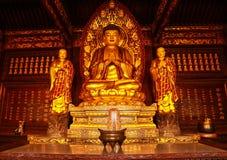 Het beeldhouwwerk van Budha royalty-vrije stock fotografie