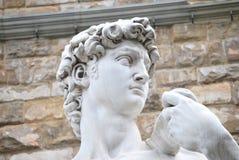 Het beeldhouwwerk van David royalty-vrije stock afbeeldingen