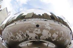 Het Beeldhouwwerk van de Boon van Chicago Stock Foto