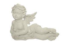 Het beeldhouwwerk van de engel royalty-vrije stock foto