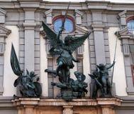 Het beeldhouwwerk van de engel Royalty-vrije Stock Foto's