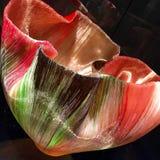 Het beeldhouwwerk van de glaskunst Stock Foto