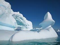 Het beeldhouwwerk van de ijsberg Stock Fotografie