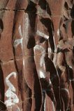 Muurbeeldhouwwerk Stock Foto