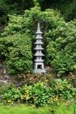 Het beeldhouwwerk van de pagode stock foto's