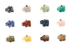 Het beeldhouwwerk van de rinocerosrinoceros Royalty-vrije Stock Foto