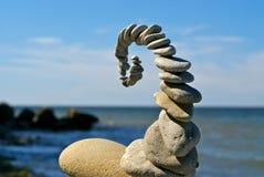 Het beeldhouwwerk van de steen royalty-vrije stock afbeeldingen
