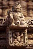 Het beeldhouwwerk van de tempel van konarktempel. Stock Afbeeldingen