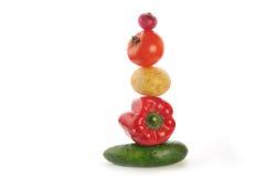 Het beeldhouwwerk van groenten Royalty-vrije Stock Afbeelding