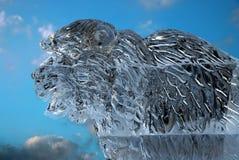 Het beeldhouwwerk van het ijs stock afbeeldingen