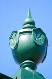 Het beeldhouwwerk van het metaal Royalty-vrije Stock Afbeeldingen
