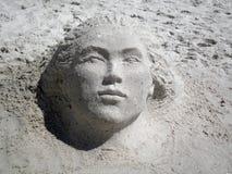 Het Beeldhouwwerk van het zand Stock Afbeeldingen