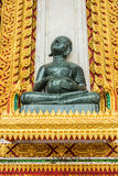 Het beeldhouwwerk van jadeboedha stock foto's