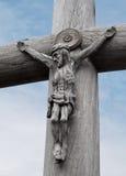Het beeldhouwwerk van Jesus-Christus Royalty-vrije Stock Fotografie