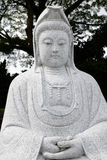 Het beeldhouwwerk van Kwan Yin van de godin Royalty-vrije Stock Foto