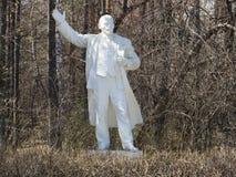 Het beeldhouwwerk van Lenin Stock Foto