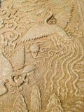 Het beeldhouwwerk van Phoenix Royalty-vrije Stock Afbeeldingen