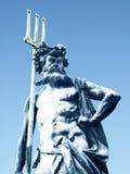 Het Beeldhouwwerk van Poseidon stock afbeelding