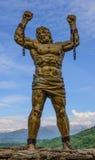 Het beeldhouwwerk van Prometheus Stock Afbeeldingen
