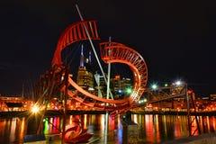 Het Beeldhouwwerk van het spookballet in Nashville, TN stock afbeeldingen