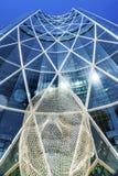 Het Beeldhouwwerkboog die van het sprookjesland Calgary Alberta Canada bouwen Stock Afbeeldingen