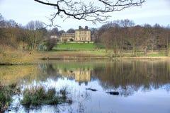 Het Beeldhouwwerkpark van Bretton Hall - van Yorkshire Stock Afbeeldingen