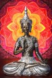 Het beeldje van Boedha Stock Fotografie