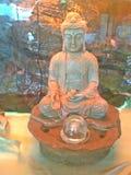 Het beeldje van Boedha stock afbeelding