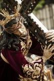 Het beeldje van Christus stock foto