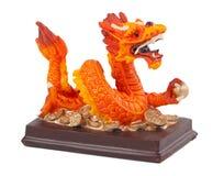 Het beeldje van de draak royalty-vrije stock afbeelding