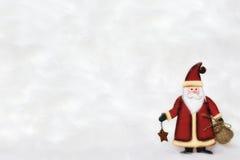 Het beeldje van de Kerstman Royalty-vrije Stock Foto's