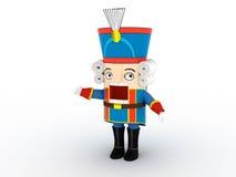 Het beeldje van de notekraker | 3D royalty-vrije illustratie