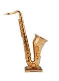 Het beeldje van de saxofoon Stock Fotografie