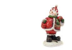 Het beeldje van de sneeuwman Stock Afbeelding