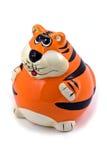 Het beeldje van de tijger royalty-vrije stock foto